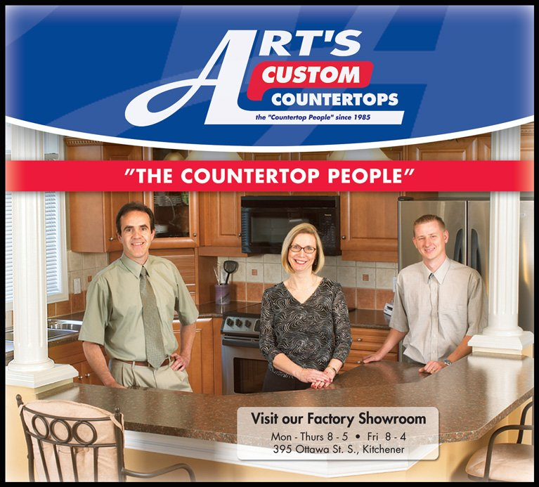 Arts Countertop people - countertop installation