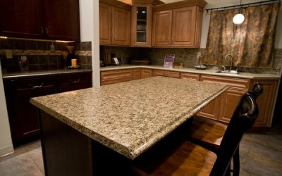 Different styles of kitchen countertops
