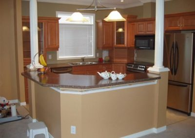 custom countertop and granite countertop