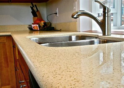 quartz countertop - photo 3