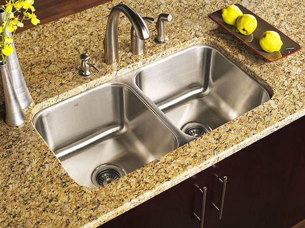 Kitchen Sinks in Kitchener & Waterloo - Art's Custom Countertops on countertops granite, kitchen sink granite, marble granite, cabinets granite, bathroom sink granite, compact sink granite,